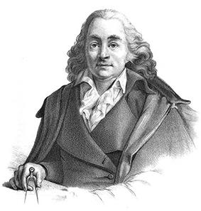 Porträtt av Louis Jean Desprez. Källa Wikipedia